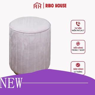 [Giảm giá thần tốc] Đôn ghế bàn trang điểm RIBO HOUSE chân sắt sơn tĩnh điện,trang trí phòng ngủ - phòng khách, các tiệm thumbnail