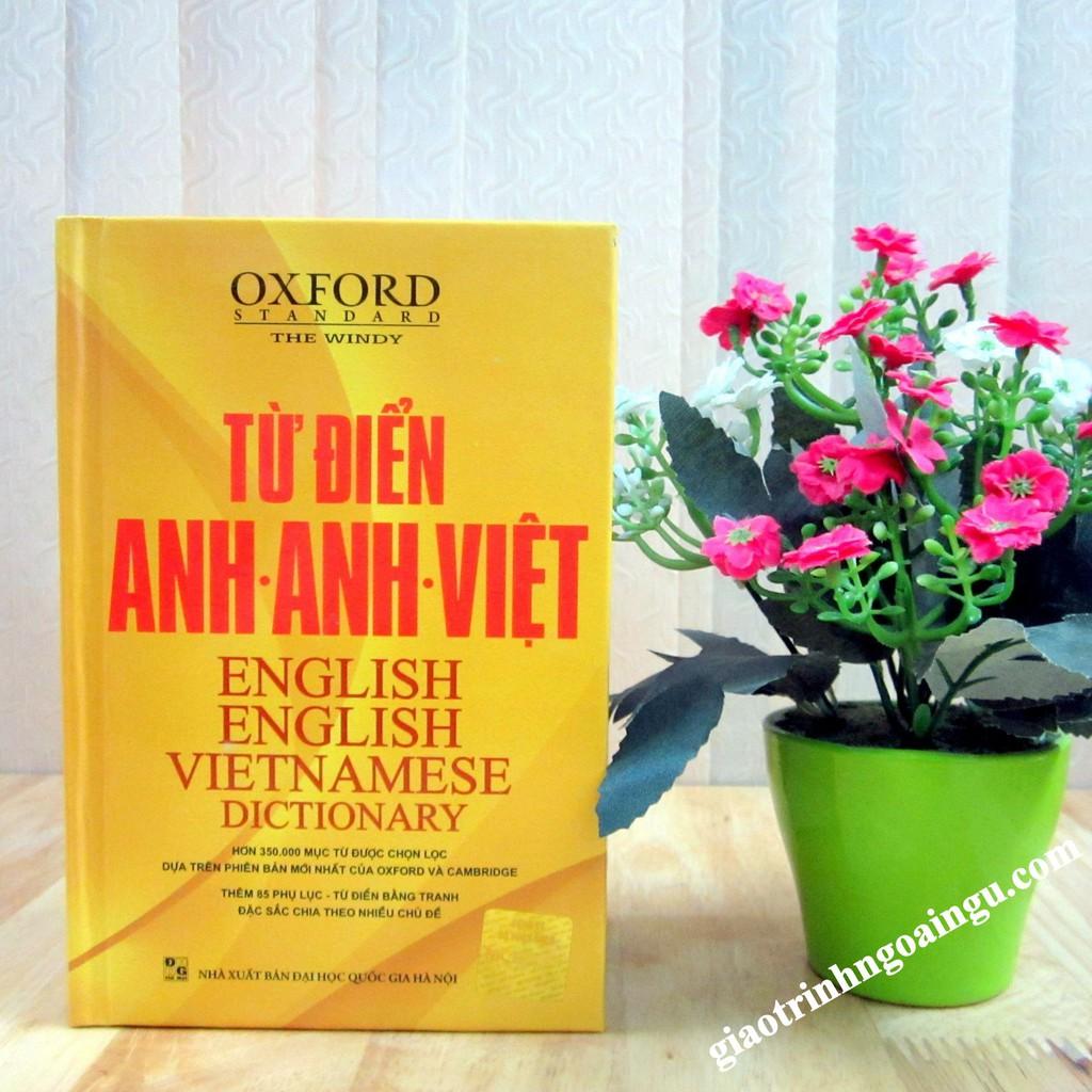 Từ điển Anh Anh Việt - Oxford standard The Windy - Bìa cứng