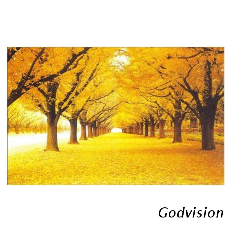 BB Jigsaw Puzzles 1000 Pieces for Adults Kids Large Puzzle Game Toys Gift Fun, Relaxing and Challenging,Yellow Leaves