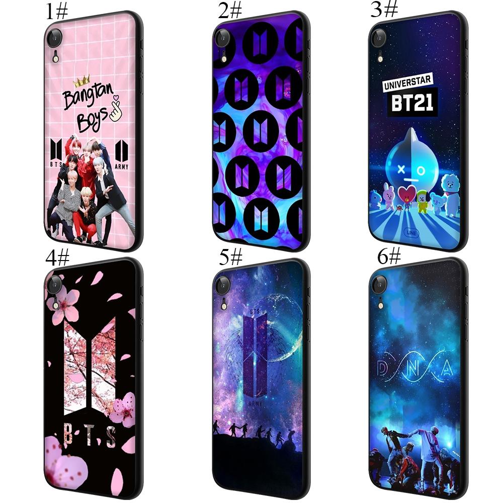 Ốp lưng điện thoại BTS A R M Y dành cho iPhone 5 5s 6 6s Plus 7 8 X s Max