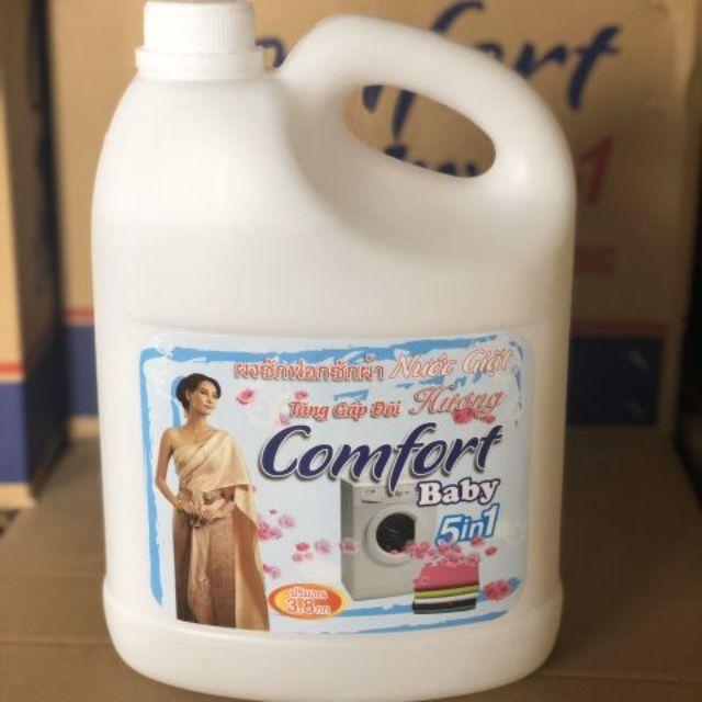 Nước giặt xả comfort 5in1.