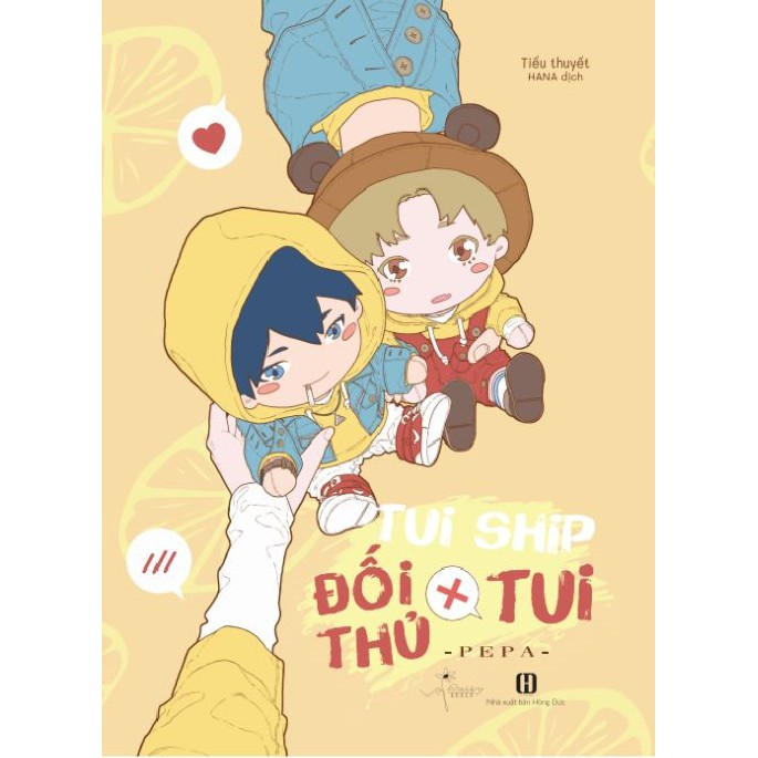 Sách - Tui Ship Đối Thủ X Tui - Tặng Bookmark + Postcard coming soon