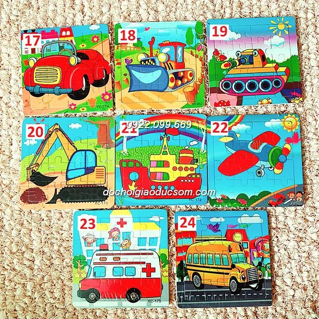 Ghép hình puzzle 16 miếng (16 mảnh) gỗ - phương tiện giao thông từ số 17 đến 24 - 2671374 , 696558539 , 322_696558539 , 15000 , Ghep-hinh-puzzle-16-mieng-16-manh-go-phuong-tien-giao-thong-tu-so-17-den-24-322_696558539 , shopee.vn , Ghép hình puzzle 16 miếng (16 mảnh) gỗ - phương tiện giao thông từ số 17 đến 24