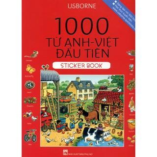 Sách Thiếu Nhi - 1000 Từ Anh - Việt Đầu Tiên