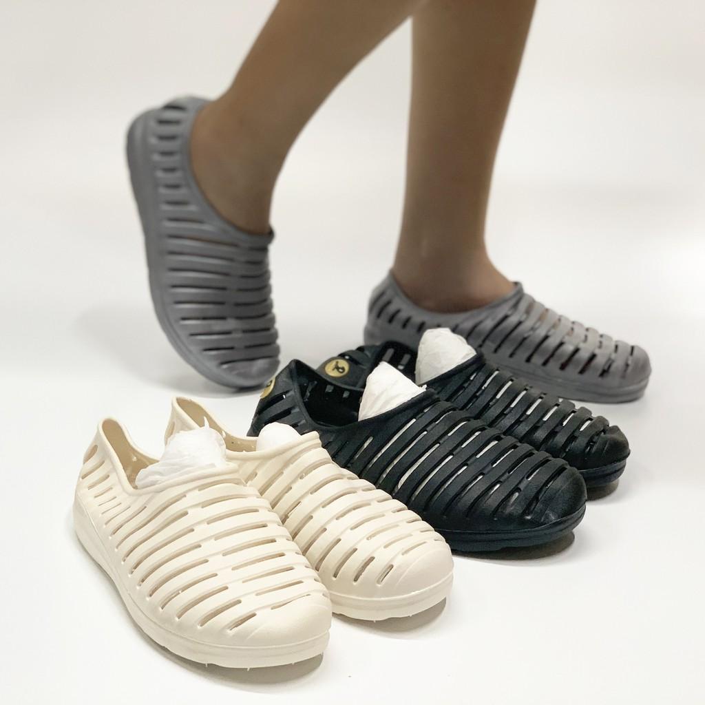 3Q04 Giày sục rọ Zuxiangzhi hot trend hè