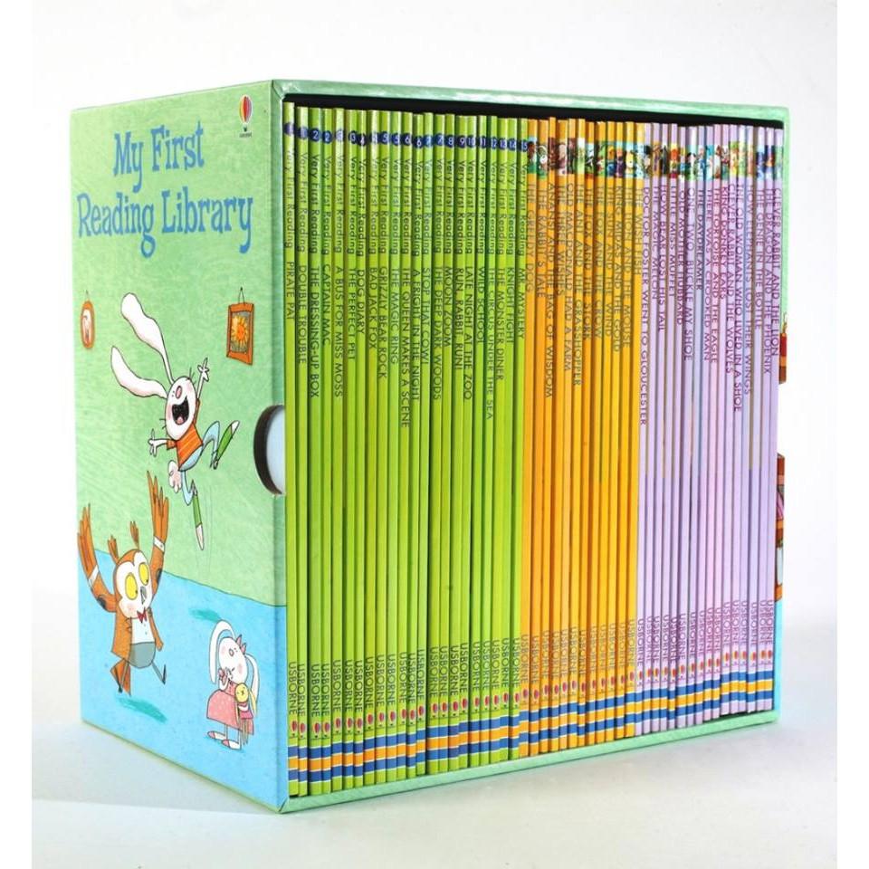[BẢN GỐC] Sách - My First Reading Library, 50 Books Paperback (sách ngoại văn nhập khẩu)