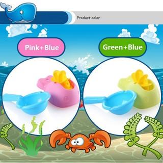 BBWORLD Kids Tắm Whale Watermill Watermill + Đồ chơi Scoop nhỏ