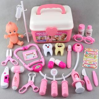 Bộ đồ chơi bác sỹ gia đình 24 chi tiết