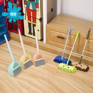 Children's cleaning kit set of 3,Color: Orange powder, brown