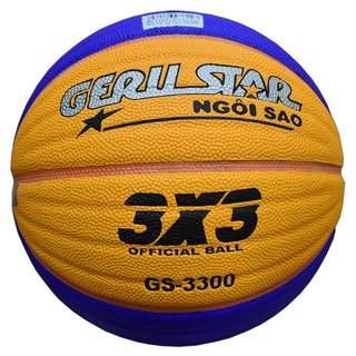 Quả bóng rổ dán Gerustar 3X3 PU Chính hãng Size 6 thumbnail