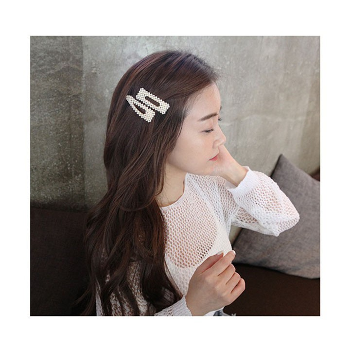 Kẹp tóc Hàn Quốc sang trọng KT04