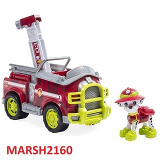 [JR03] Bộ chó Marshall rời + xe cứu hỏa dòng JUNGLE RESCUE phim Những chú chó cứu hộ – Paw Patrol