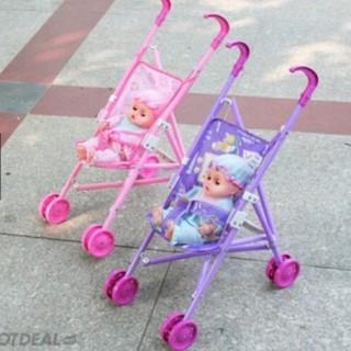 Đồ chơi búp bê xe đẩy cho bé