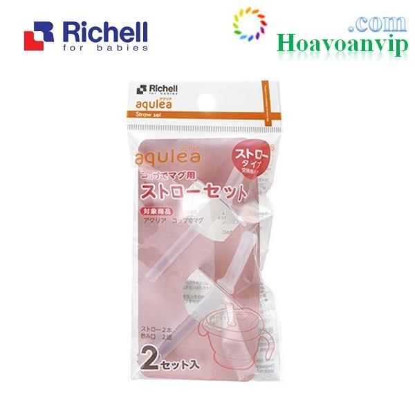 Ống Hút Thay Thế Cho Cốc Tập Uống 3 Giai Đoạn Richell (2c) RC