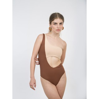 là min - Áo Bơi Caramel Cut-out Swimsuit thumbnail