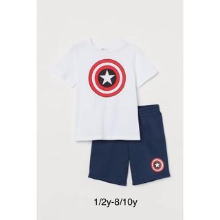 Bộ Captain bé trai H&M, 1-10y