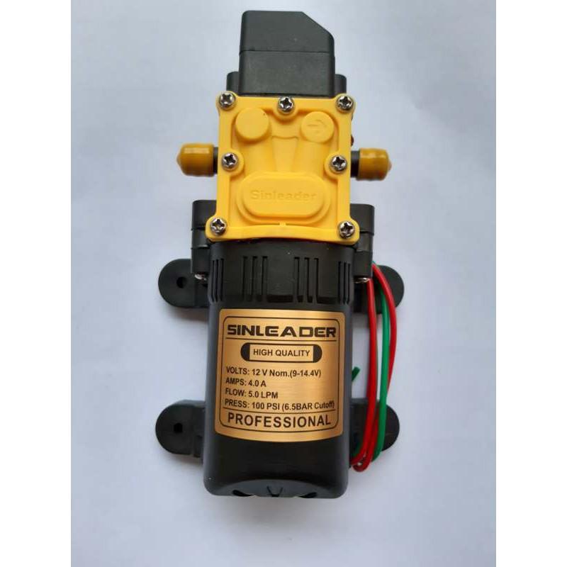 Máy bơm nước  ,phun sương mini 12v áp lực cao - bơm tăng áp mini 12v