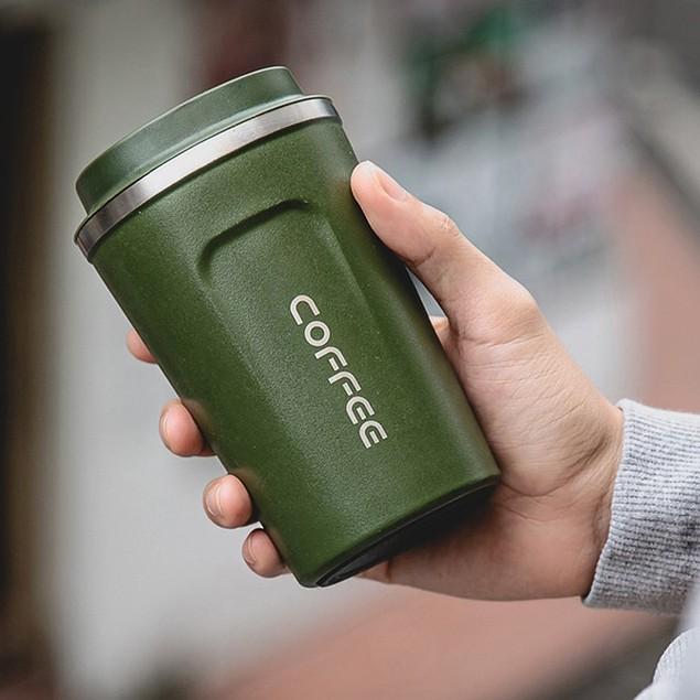 [KÈM QUÀ TẶNG][FREESHIP 50K] 🍀🍀 Ly giữ nhiệt Coffee Holic Inox Cao Cấp Giữ Nhiệt Ít Nhất 6 Tiếng 🍀🍀 BH 1-1 3 tháng