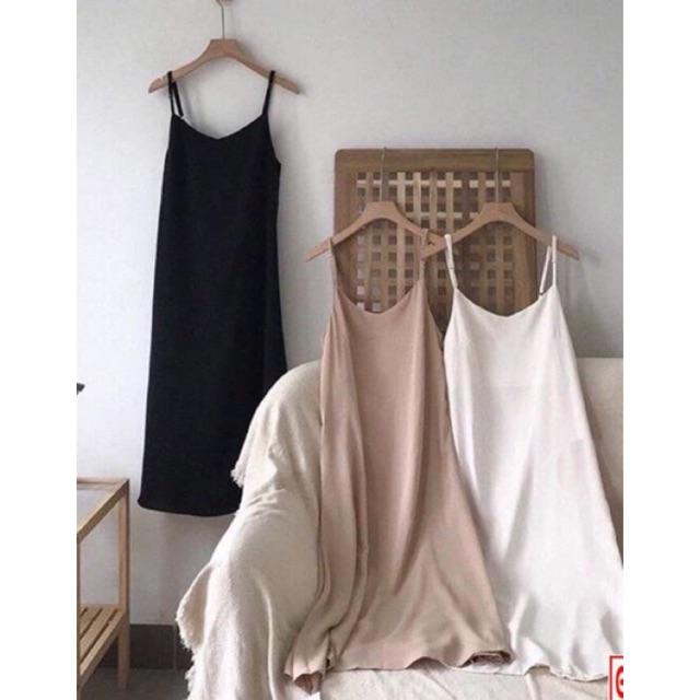[Mã WASEPRN hoàn 20% xu đơn 99k] Váy hai dây đũi Hàn siêu mát