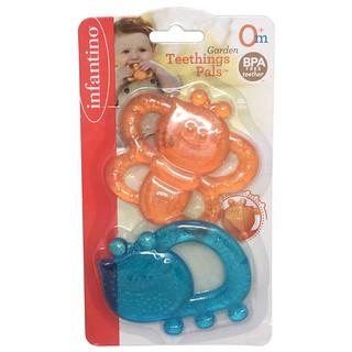 RẺ VÔ ĐỊCH !!! Đồ chơi cầm tay trẻ em Set vòng mềm có nước 2 món Infantino 216276 chính hãng