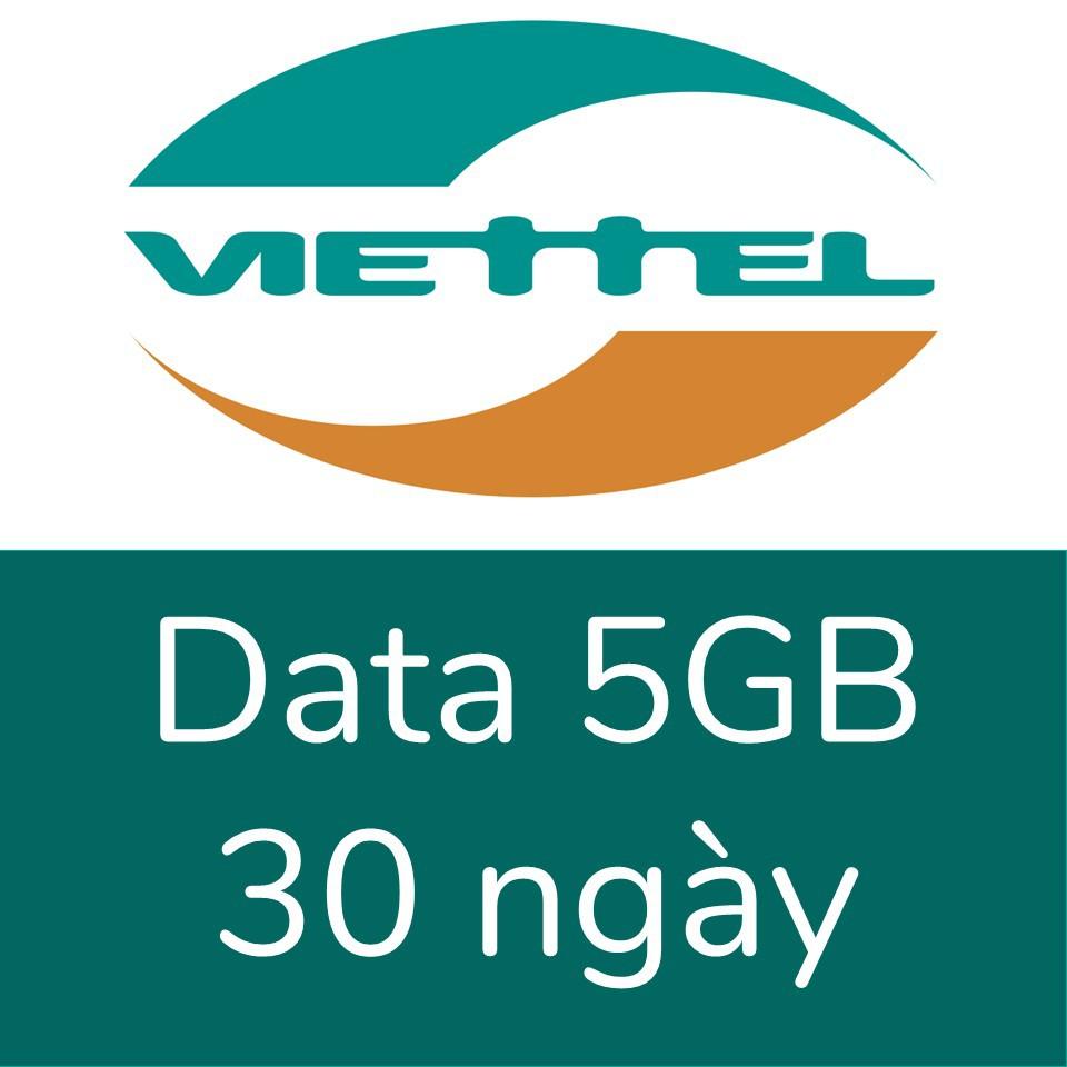 Viettel 5GB, 30 ngày
