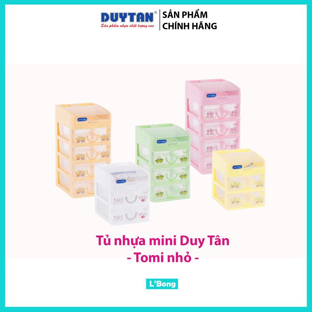 Tủ nhựa mini Duy Tân Tomi Nhỏ 3-4-5 tầng