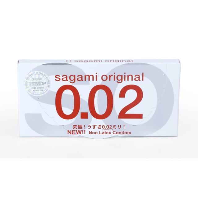 Bao Cao Su SAGAMI Original 0.02 hộp 2 chiếc - 2434759 , 251628160 , 322_251628160 , 60000 , Bao-Cao-Su-SAGAMI-Original-0.02-hop-2-chiec-322_251628160 , shopee.vn , Bao Cao Su SAGAMI Original 0.02 hộp 2 chiếc