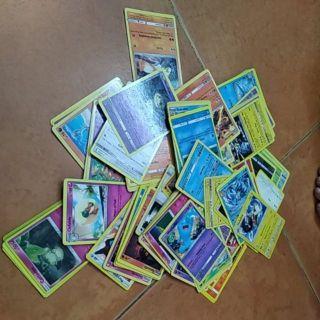 Set 100 thẻ bài Pokemon-Thẻ bài thường(Thẻ ngẫu nhiên)