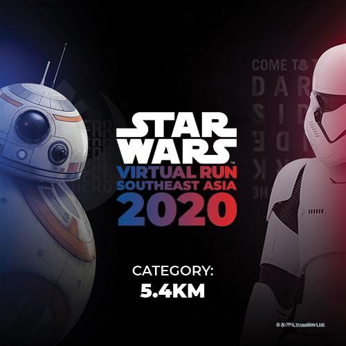 [E-voucher] - Vé đơn chặng 5.4KM Cuộc thi chạy STAR WARS Virtual Run Đông Nam Á (Đội ánh sáng hoặc bóng tối) - Liv3ly