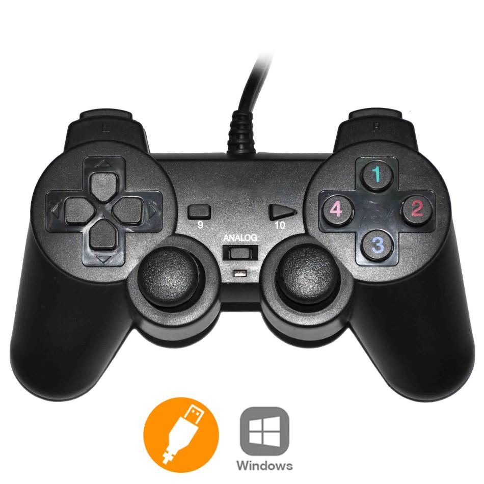 🍀BH 6 THÁNG🍀 Tay Cầm Chơi Game Đơn Có Rung Cổng USB – Gamepad Cho PC Laptop-gamepad ew-2008