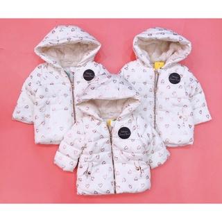 Áo khoác lót lông cừu TEX bé gái