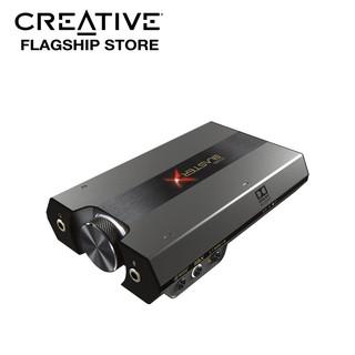 [Mã ELMALL1TR5 giảm 6% đơn 3TR] Bộ Giải Mã Âm Thanh Creative SoundCard Sound BlasterX G6 - Hàng Chính Hãng