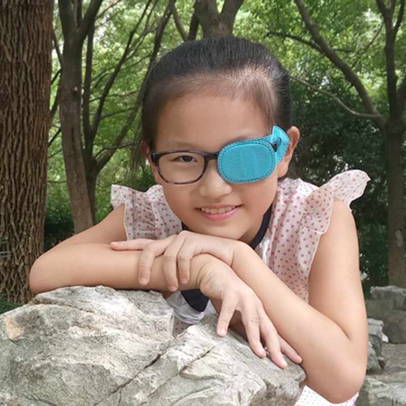 KING 6pcs Amblyopia Eye Patches For Glasses Kids Strabismus Lazy Eye Training Patches