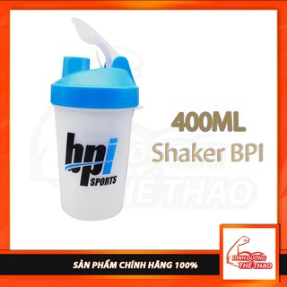 Bình Nước shaker BPi 400ml cực cute – Nhựa BPA Free – An Toàn Cho Người Dùng