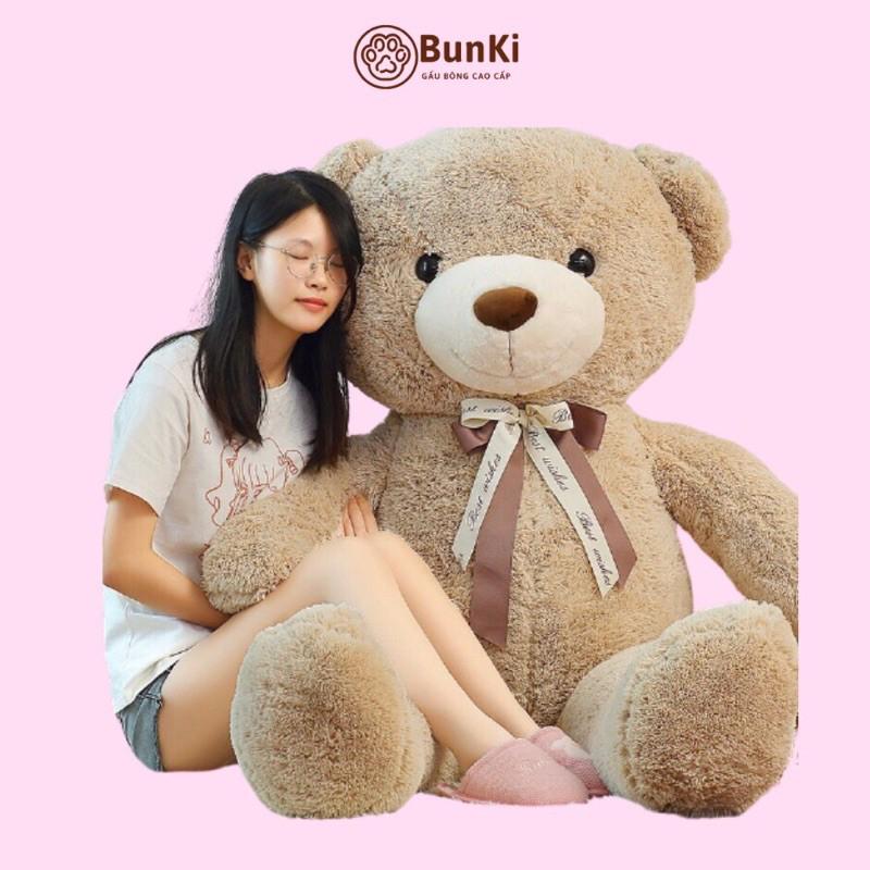 GẤU BÔNG TEDDY SWEET HUG 160CM CAO CẤP