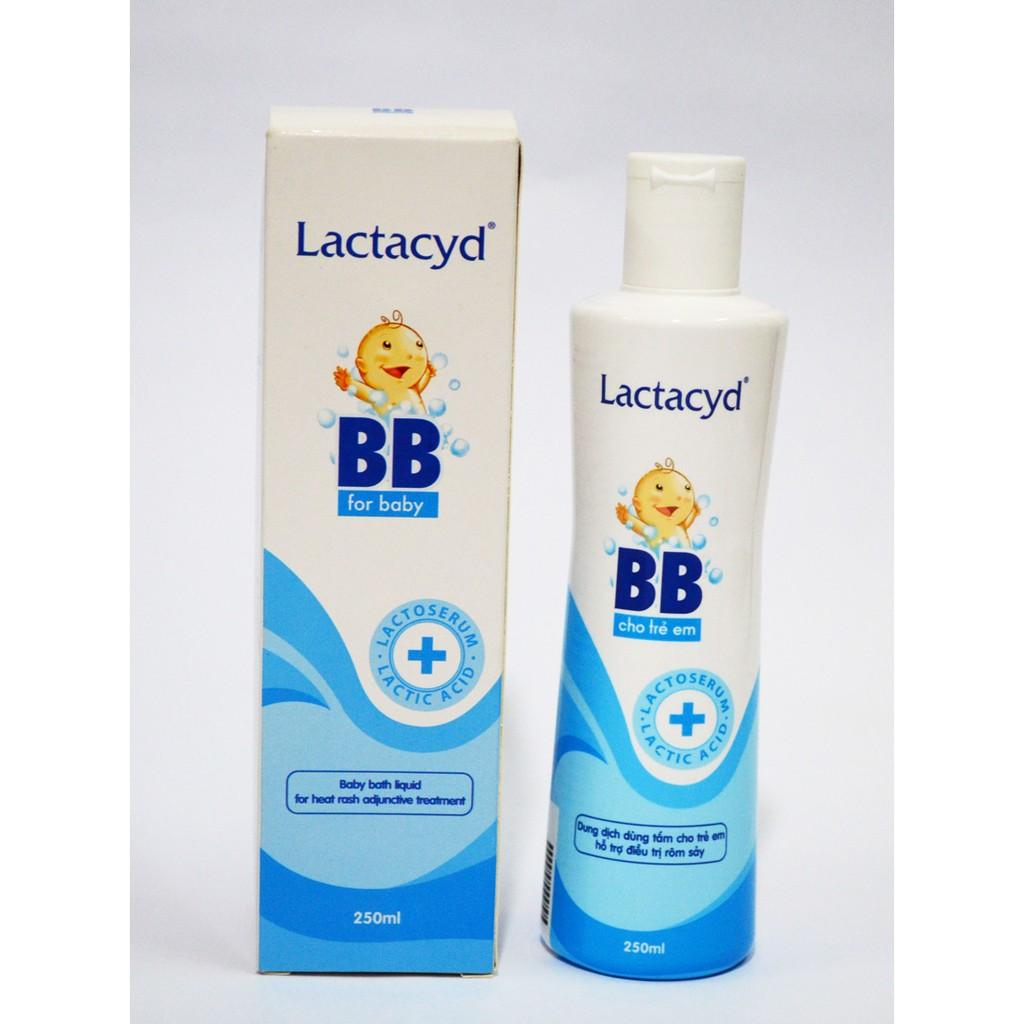 Sữa Tắm Lactacyd Chống Rôm Sảy Cho Trẻ Sơ Sinh
