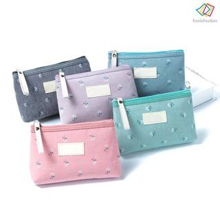 FCD Women Travel Cosmetic Bag Brush Organizer Printing Zipper Toiletry Case Lady Makeup Bags thumbnail