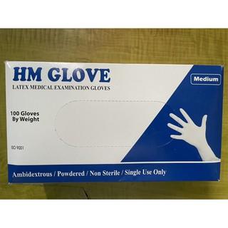 Găng tay y tế các loại HM GLOVE, LATEX... (Hộp 50 đôi 100 cái) thumbnail