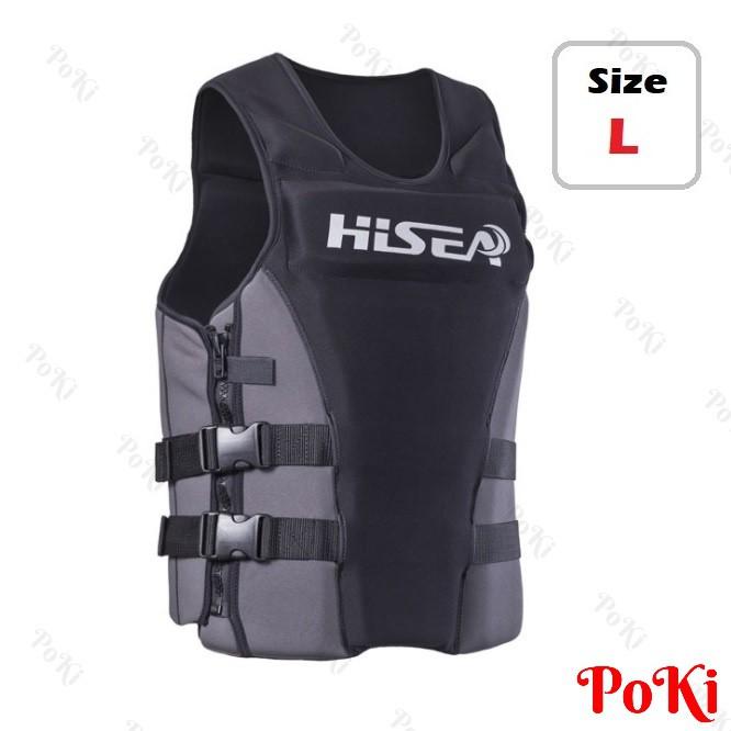 Áo phao bơi cứu hộ HISEA - L, chuyên dùng cho các môn thể thao mạo hiểm, đặt tiêu chuẩn EU cao cấp - POKI - 22392237 , 1102561926 , 322_1102561926 , 587000 , Ao-phao-boi-cuu-ho-HISEA-L-chuyen-dung-cho-cac-mon-the-thao-mao-hiem-dat-tieu-chuan-EU-cao-cap-POKI-322_1102561926 , shopee.vn , Áo phao bơi cứu hộ HISEA - L, chuyên dùng cho các môn thể thao mạo hiểm