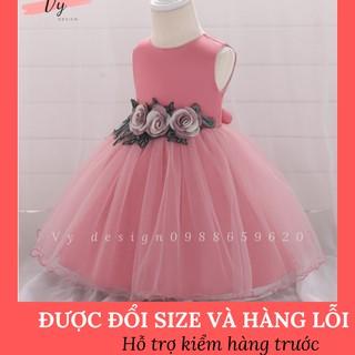 [HÀNG CAO CẤP] Váy đầm công chúa thiết kế Váy công chúa bé gái cao cấp, chất bồng bềnh MD032 thumbnail