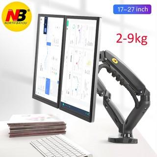 [Model 2021] Giá treo màn hình kép NB F160 17-27 inch, tải trọng 9kg mỗi bên, mẫu mới nhất