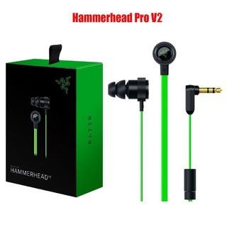 Tai Nghe Chơi Game Nhét Tai Razer Hammerhead Pro V2 Kèm Micrô