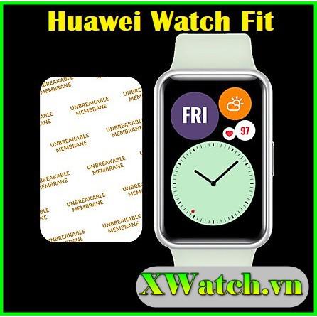 Miếng Dán Màn hình PPF Huawei Watch Fit / Honor Smart Watch Es Chống Va Đập và Chống Trầy Xước