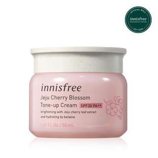 Kem dưỡng ẩm làm sáng chống nắng cho da innisfree Jeju Cherry blossom Tone-up cream SPF30 PA 50ml