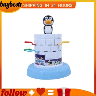 Buybest1 Board game pirate penguin Toy bucket Interactive Toys Funny intellectual