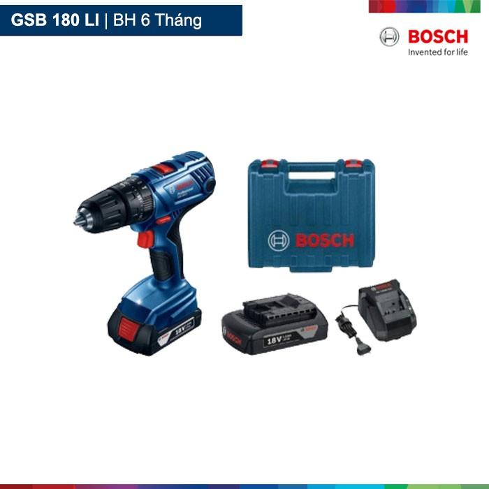 Máy khoan vặn vít dùng pin Bosch GSB 180-LI - 2622878 , 1140870114 , 322_1140870114 , 3300000 , May-khoan-van-vit-dung-pin-Bosch-GSB-180-LI-322_1140870114 , shopee.vn , Máy khoan vặn vít dùng pin Bosch GSB 180-LI