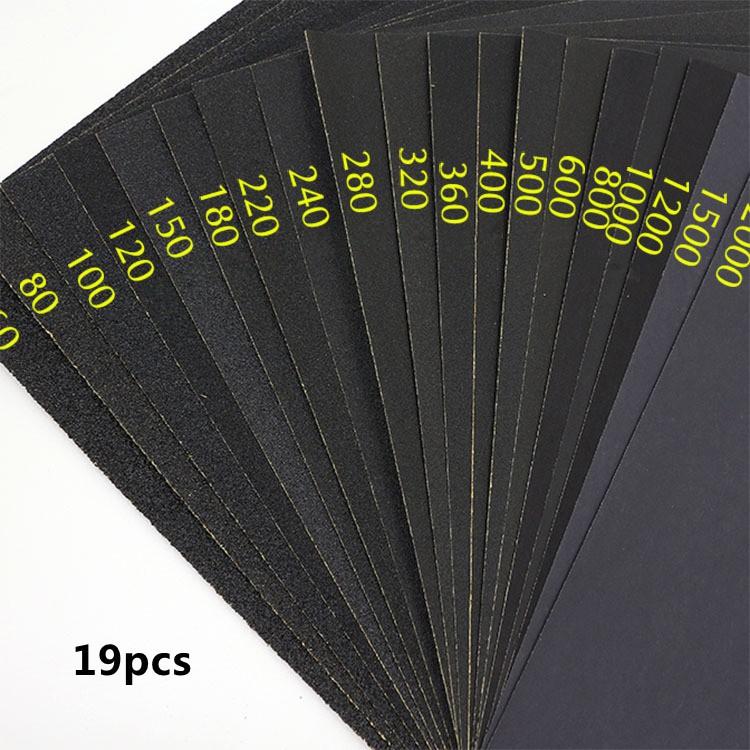 Bộ 19 giấy nhám - 10085435 , 714721630 , 322_714721630 , 120000 , Bo-19-giay-nham-322_714721630 , shopee.vn , Bộ 19 giấy nhám