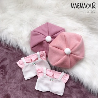 Outfit cho Doll 20cm – Cherry Cherry ❤️