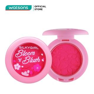 Phấn Má Hồng SILKYGIRL Bloom N Blush 3g . 01 Pretty Pink Hồng Phớt