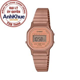 Đồng hồ nữ dây kim loại Casio Standard chính hãng Anh Khuê LA-11WR-5ADF thumbnail